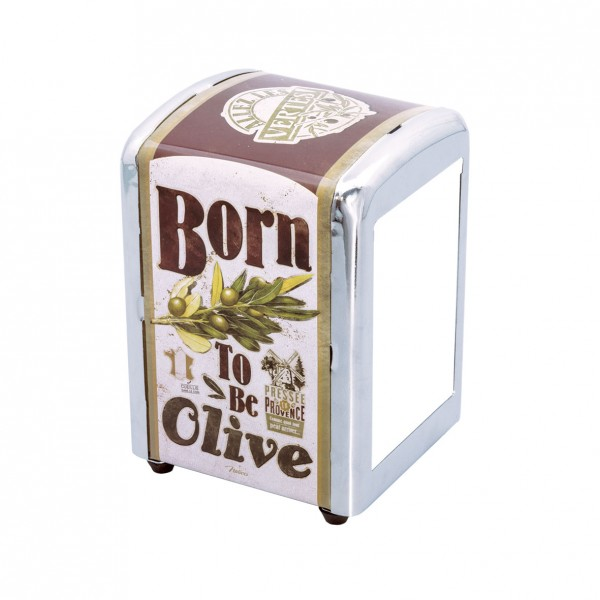 Distributeur serviettes - Born to be olive